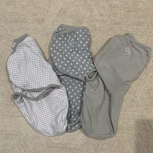 3 swaddle sleep sacks